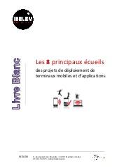 Projets de déploiement de terminaux mobiles et d'applications