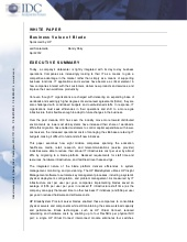 Business Value of Blade (Livre Blanc en Anglais)