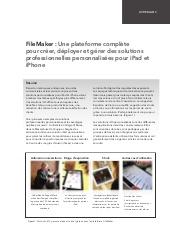 Une plateforme complète pour créer, déployer et gérer des solutions professionnelles personnalisées pour iPad et iPhone