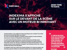 Indexima s'affiche sur le devant de la scène avec un moteur BI innovant