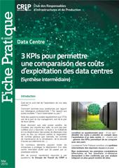3 KPIs pour permettre une comparaison des coûts d'exploitation des data centres