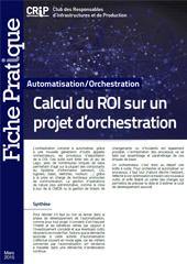 Calcul du ROI sur un projet d'orchestration