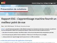 Rapport ESG : L'apprentissage machine fournit un meilleur point de vue