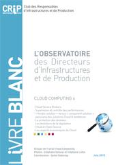 L'Observatoire des Directeurs d'Infrastructures et de Production - Cloud Computing 6