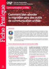 Comment bien aborder la migration vers des outils de communication unifiée