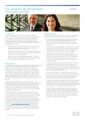 Les solutions de virtualisation CISCO pour PME