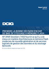 Prenez la bonne décision d'achat de baie de stockage à mémoire Flash
