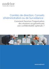 Comment favoriser l'organisation des réunions en garantissant une confidentialité optimale ?