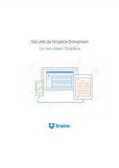 Sécurité de DropBox Entreprises