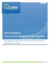 Etapes concrètes pour la protection des données de votre organisation