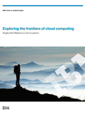 Exploring the frontiers of cloud computing (Livre Blanc en anglais)