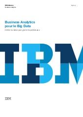 Business Analytics pour le Big Data