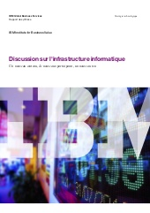 Discussion sur l'infrastructure informatique