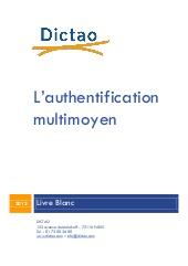 L'authentification multimoyen