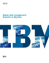 Master data management : Exploiter le Big Data