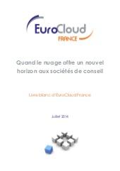 Quand le Cloud offre un nouvel horizon aux sociétés de conseil