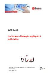 Les Services Managés appliqués à la Mobilité