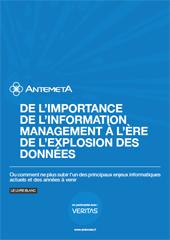 Management des informations à l'ère de l'explosion des données