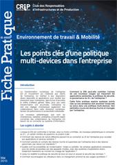 Les points clés d'une politique multi-devices dans l'entreprise