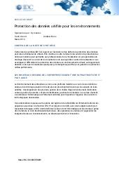 Protection des données unifiée pour les environnements
