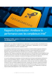 Rapports d'optimisation : améliorer la performance avec les compilateurs Intel