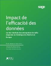 Impact de l'efficacité des données sur les résultats des entreprises