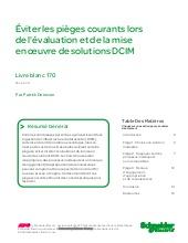 Eviter les pièges courants lors de l'évaluation et de la mise en oeuvre de solutions DCIM