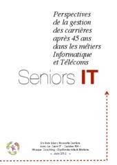 Perspectives de la gestion des carrières après 45 ans dans les métiers informatique et télécoms : séniors IT