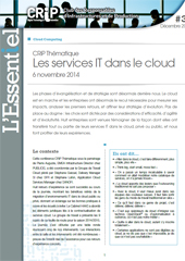 Les services IT dans le cloud