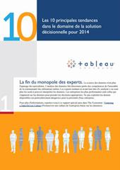 10 principales tendances de la solution décisionnelle pour 2014