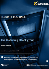 The Waterbug attack group