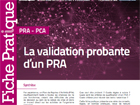 La validation probante d'un PRA