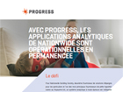 Avec Progress, les applications analytiques de Nationwide sont opérationnelles en permanence