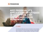 Avec Progress, les applications analytiques de Nationwide sont opérationnelles en permanence