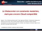 Datacenter : quelles évolutions pour votre infrastructure ?