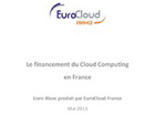 Le financement du Cloud Computing en France