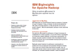 Gerer et explorer le Big Data : IBM BigInsights for Apache Hadoop