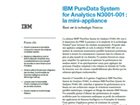 IBM PureData System for Analytics N3001-001 : la mini-appliance