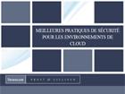 Meilleures pratiques de sécurité pour les environnements de Cloud