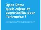 Open Data : quels enjeux et opportunités pour l'entreprise?