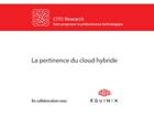 La pertinence du cloud hybride