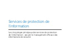 Service de protection de l'information