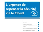 L'urgence de repenser la sécurité via le Cloud