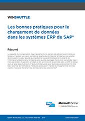 Les bonnes pratiques pour le chargement de données dans les systèmes ERP de SAP